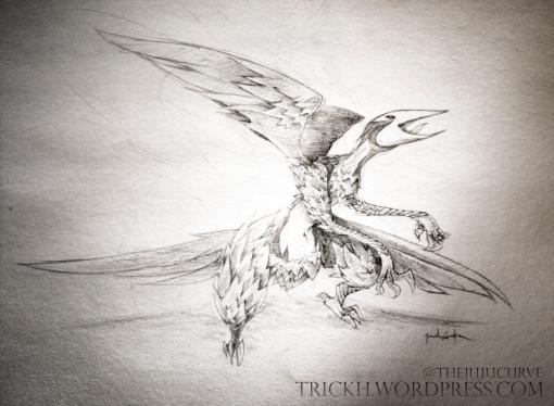 Daily Doodle: Bird Creature