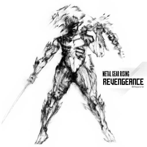 Fan Art: Raiden (Metal Gear Rising: Revengeance)